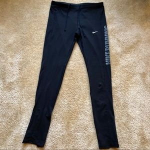Nike Pants - Nike Dri-fit Running Tights Leggings Pants Medium